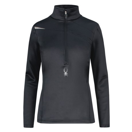 Spyder Bocca Stretch Fleece Shirt - Zip Neck, Long Sleeve (For Women)