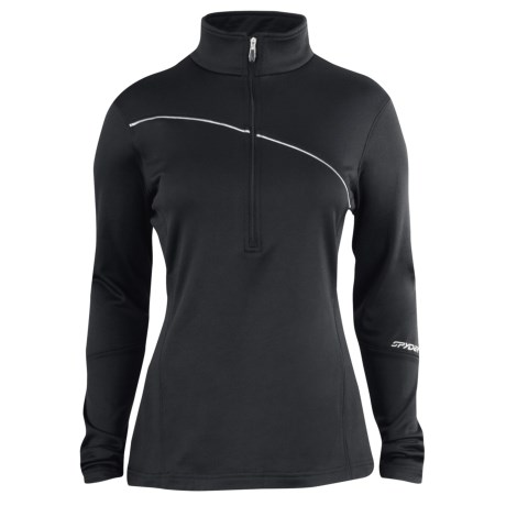 Spyder Flicker Turtleneck - Zip Neck, Long Sleeve (For Women)