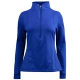 Spyder Lapis Turtleneck Pullover - Fleece, Zip Neck, Long Sleeve (For Women)