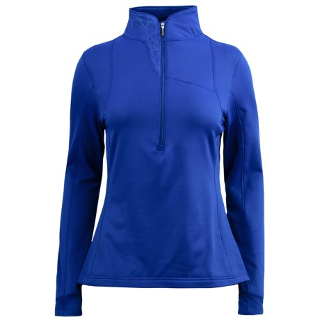 Spyder Lapis Turtleneck Pullover - Fleece, Zip Neck, Long Sleeve (For Women)