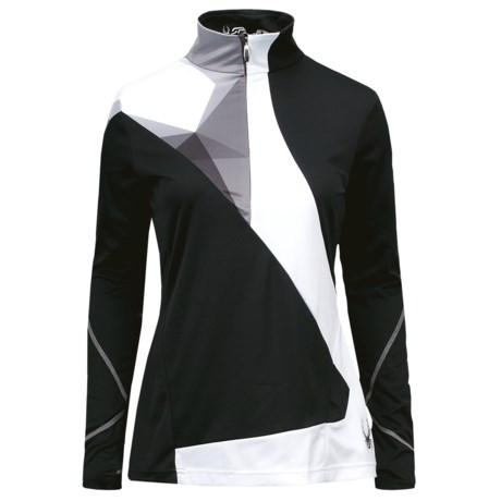 Spyder Voltaic Turtleneck - Heavyweight Base Layer, Zip Neck, Long Sleeve (For Women)