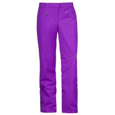 Spyder Empress Ski Pants - Insulated, Full Side Zip (For Women)