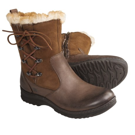 Born Masa Boots - Leather, Shearling-Lined (For Women)