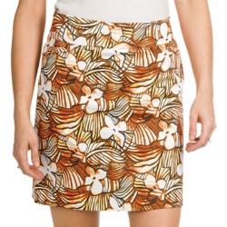Tribal Sportswear Printed Sateen Skort - Stretch Cotton (For Women)