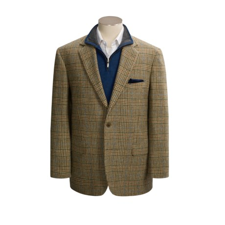 Southwick Plaid Sport Coat - Shetland Wool (For Men)