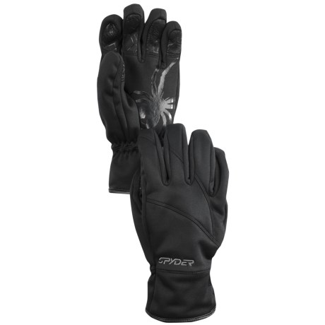 Spyder Facer Windstop Gloves (For Men)