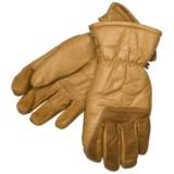 Spyder Work Ski Gloves - Leather, Waterproof (For Men)