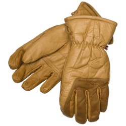 Spyder Work Ski Gloves - Leather, Waterproof (For Men)