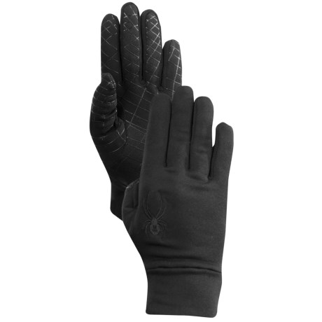 Spyder Stretch Fleece Gloves (For Men)