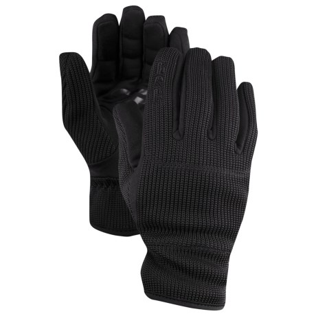 Spyder Core Sweater Knit Gloves (For Men)