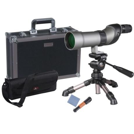 Vanguard Signature Plus 661 Spotting Scope - 15-45x60mm, Waterproof, Straight View