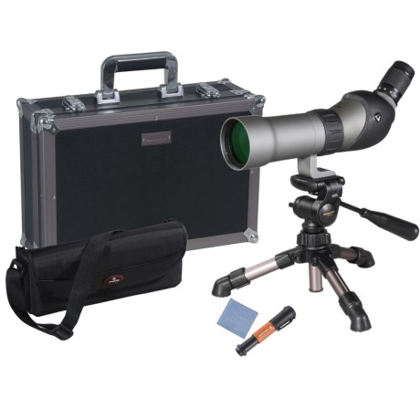 Vanguard Signature Plus 660 Spotting Scope - 15-45x60mm, Waterproof, 45° View