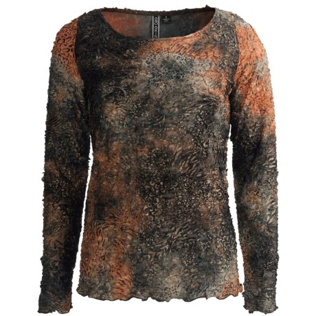 Sno Skins Paper Mache Shirt - Scoop Neck, Long Sleeve (For Women)