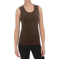 Sno Skins Micro-Cashmerette Tank Top - Scoop Neck (For Women)