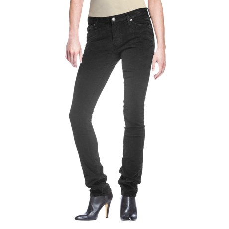 Agave Denim Agave Nectar Paloma Newcomb's Ranch Stretch Corduroy Pants - Classic Fit, Skinny Leg (For Women)