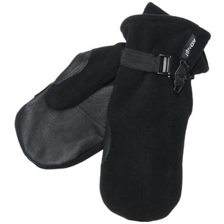 Kombi Windbreaker Fleece II Mittens - Windproof, Insulated (For Men)