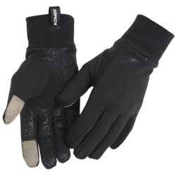 Kombi Stretch Tech Liner Gloves - Fleece (For Men)