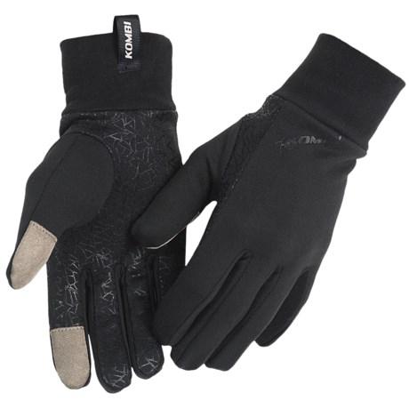 Kombi Stretch Tech Liner Gloves - Fleece (For Men)
