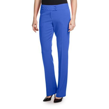 Amanda + Chelsea Contour Waist Baby Boot Pants (For Women)