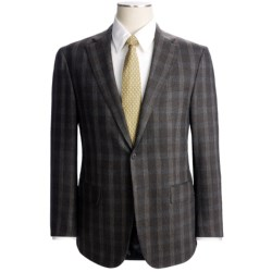 Isaia Heathered Plaid Suit - Wool-Cashmere (For Men)