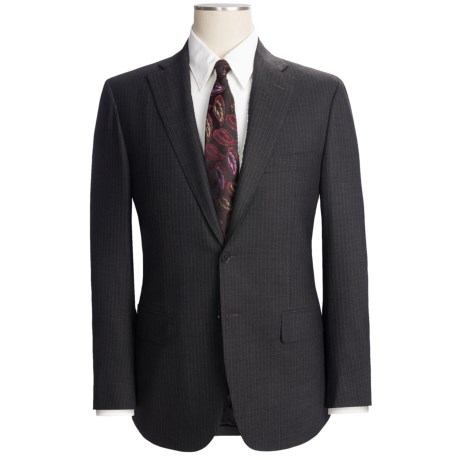 Isaia Pinstripe Suit - Wool (For Men)