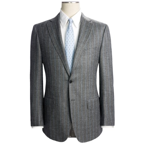 Isaia Fancy Stripe Suit - Wool-Cashmere (For Men)