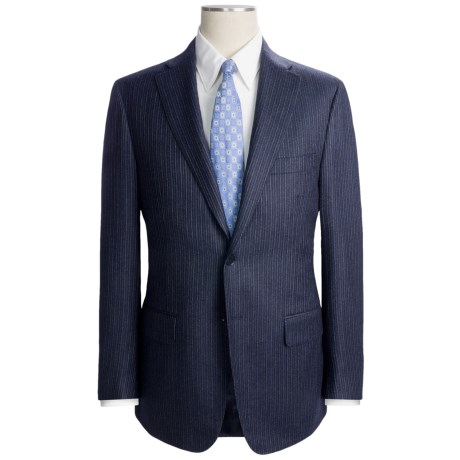 Isaia Track Stripe Suit - Wool-Cashmere (For Men)