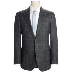 Isaia Subtle Windowpane Suit - Wool (For Men)