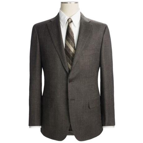 Isaia Wool Pin Dot Suit (For Men)