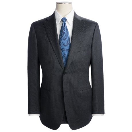 Isaia Wool Pinstripe Suit (For Men)