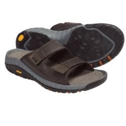 Hi-Tec Sierra Canyon Slide Sandals - Leather (For Men)