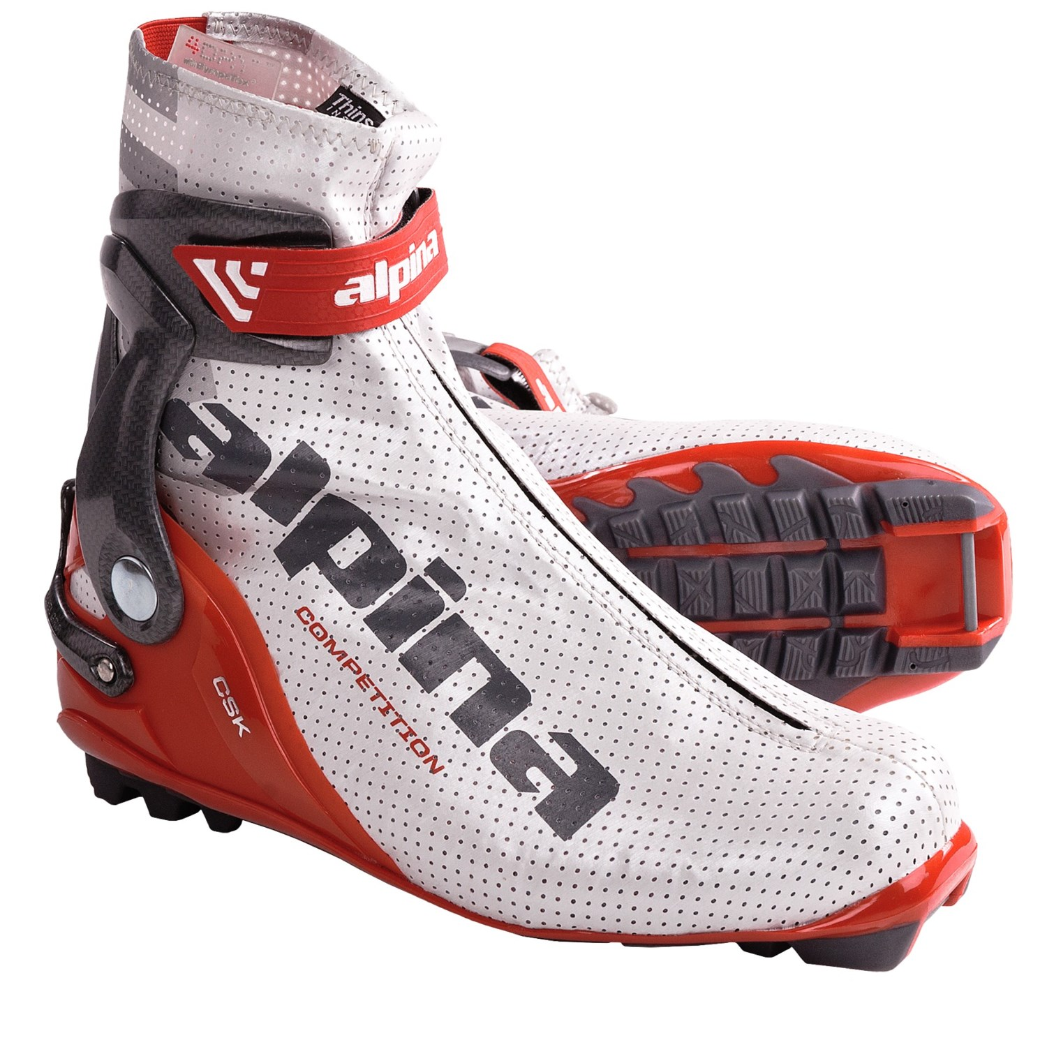 Alpina CSK Competition Cross-Country Ski Boots (For Men
