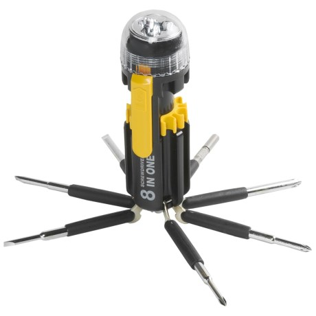 Perfect Solutions 8-in-1 Screwdriver Flashlight