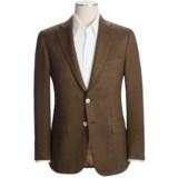 Isaia Herringbone Sport Coat - Wool-Cashmere-Silk (For Men)