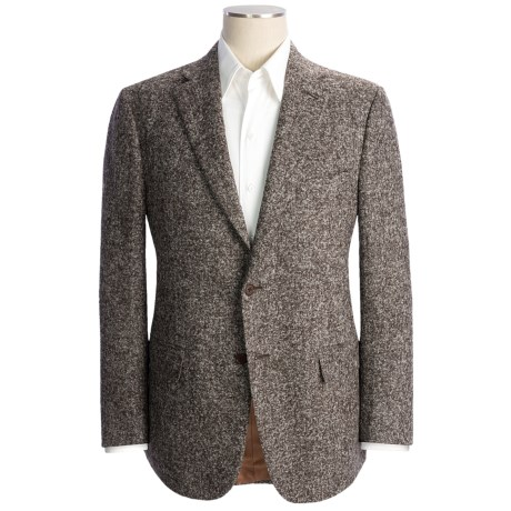 Isaia Marbled Alpaca Sport Coat (For Men)