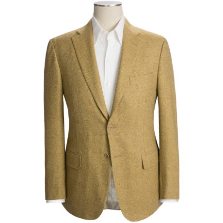 Isaia Tic Weave Sport Coat - Wool-Cashmere (For Men)