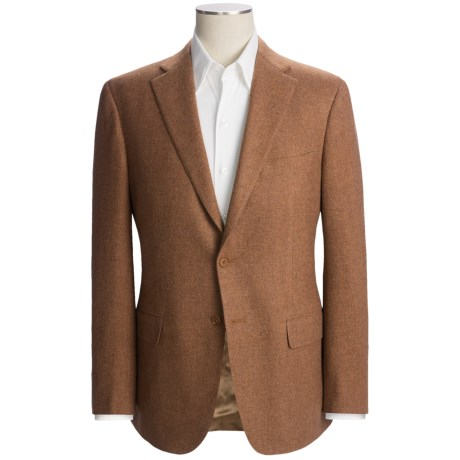 Isaia Basket Weave Sport Coat - Cashmere-Wool (For Men)