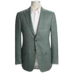 Isaia Tic Weave Sport Coat - Wool-Silk (For Men)