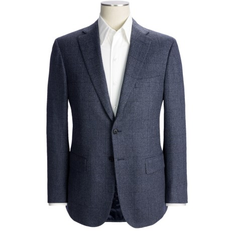 Isaia Glen Plaid Sport Coat - Wool-Angora-Cashgora (For Men)