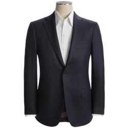 Isaia Angled Stripe Sport Coat - Wool-Cashmere (For Men)