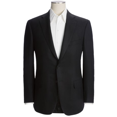 Isaia Fancy Solid Sport Coat - Extrafine Wool (For Men)