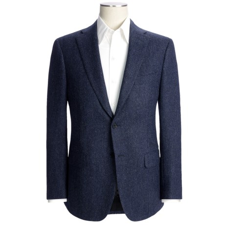 Isaia Basket Weave Sport Coat - Wool (For Men)
