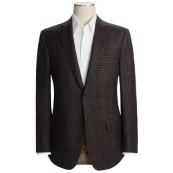 Isaia Wool Check Sport Coat (For Men)