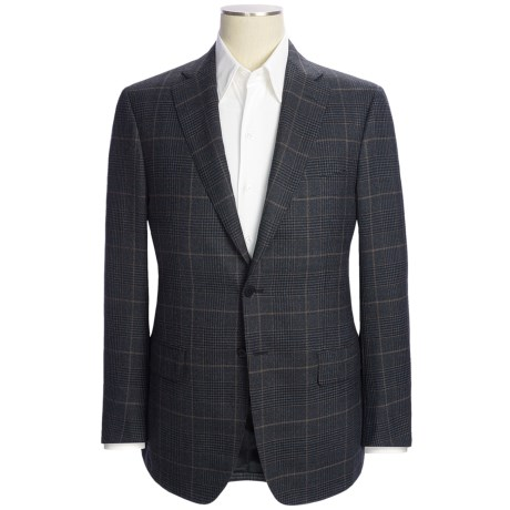 Isaia Glen Plaid Sport Coat - Wool (For Men)