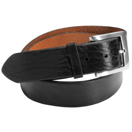 Bill Lavin Beveled Edge Belt - Leather (For Men)
