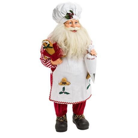"Santa's Workshop, Inc. Santa's Workshop 24"" Collectible Santa"