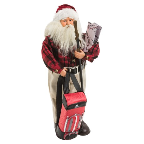 "Santa's Workshop 18"" Collectible Santa"