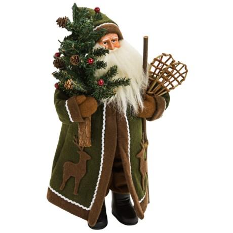 "Santa's Workshop 15"" Collectible Santa"