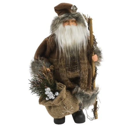"Santa's Workshop 12"" Collectible Santa"