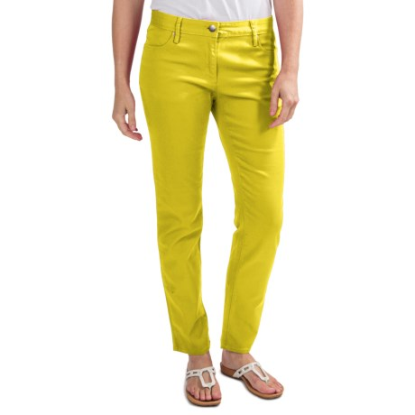 Specially made Colored Skinny Jeans - Stretch Cotton (For Women)